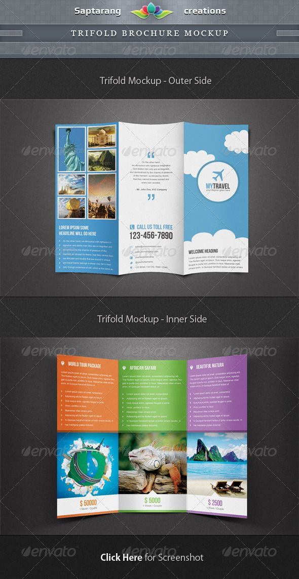 images of step by step tri fold brochures - Google Search