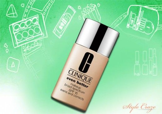 Foundation for combination skin.