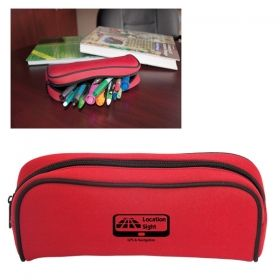Promotional Products Ideas That Work: NEOPRENE PENCIL CASE. Get yours at www.luscangroup.com
