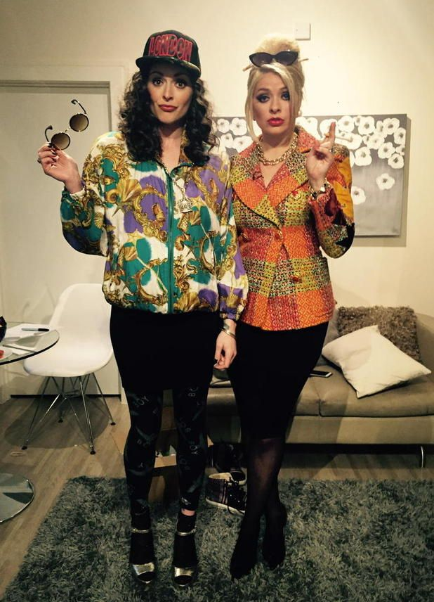 patsy and eddie fancy dress costumes - Google Search