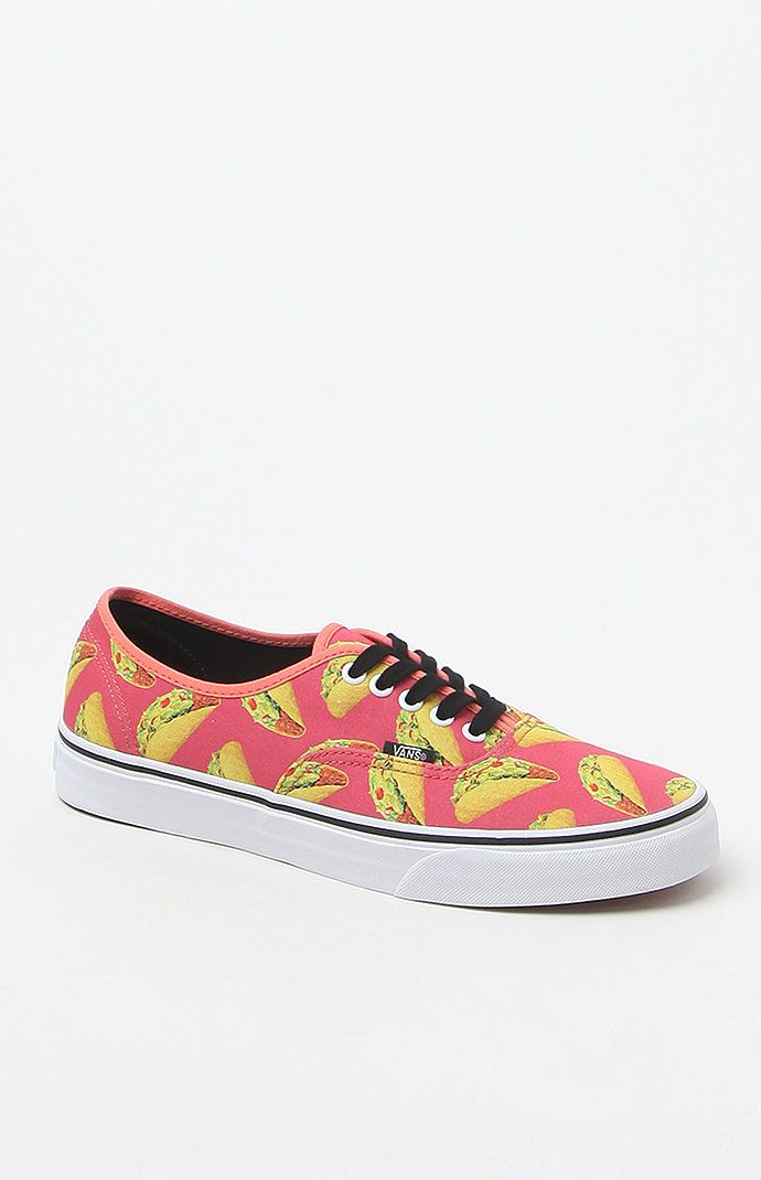 Vans Late Night Authentic Taco Print Shoes at PacSun.com