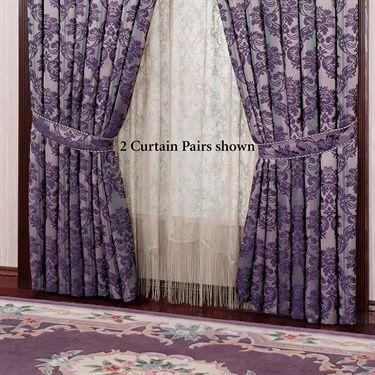 Pinterestteki 25den fazla en iyi Damask curtains fikri Gothic