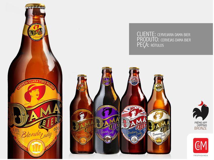 Rótulo Dama Bier