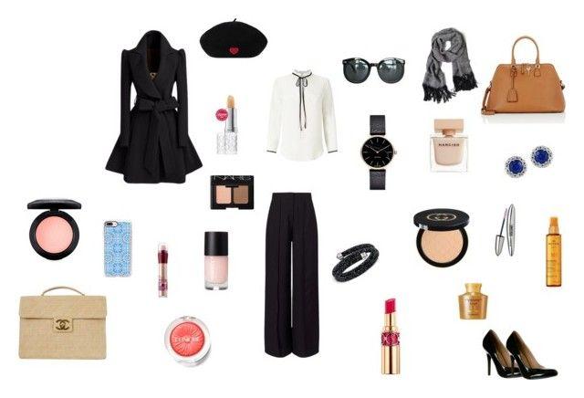 """Untitled #54"" by portuguesegreeneyes on Polyvore featuring Miss Selfridge, Chanel, Maison Margiela, Swarovski, Effy Jewelry, Nuxe, Elizabeth Arden, Casetify, Myku and Yves Saint Laurent"