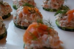 Aperitiv cu somon si dovlecel - Culinar.ro