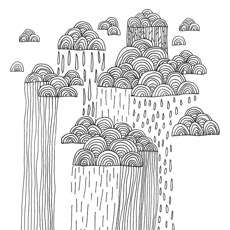 Rainy summer in Finland