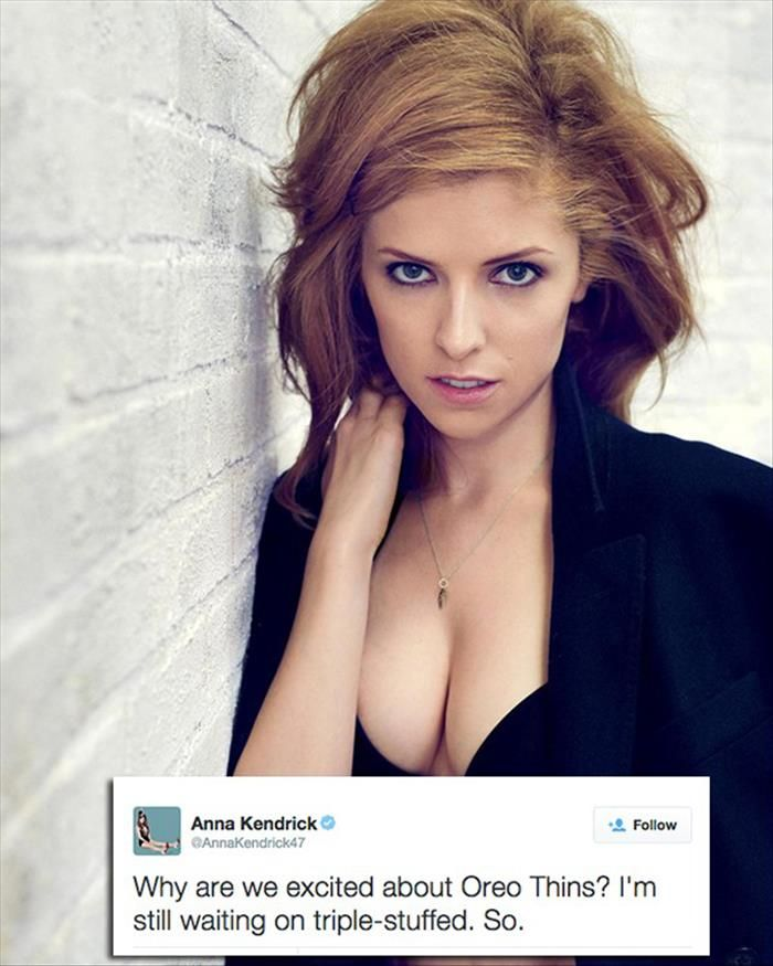 Hot Anna Kendrick Striped Down | Entertainment