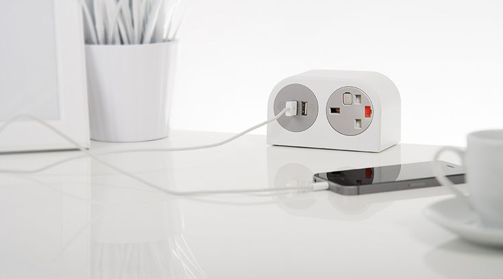 Just launched our new soft seating PHASE unit. Phase is an exciting new concept in power modules from OE electrics, that is ideal for providing convenient but discreet power and data in offices, hotels, restaurants, airports and many other locations.  Here in white and grey, with UK fused socket and an OE Electrics TUF 5A USB fast charger
