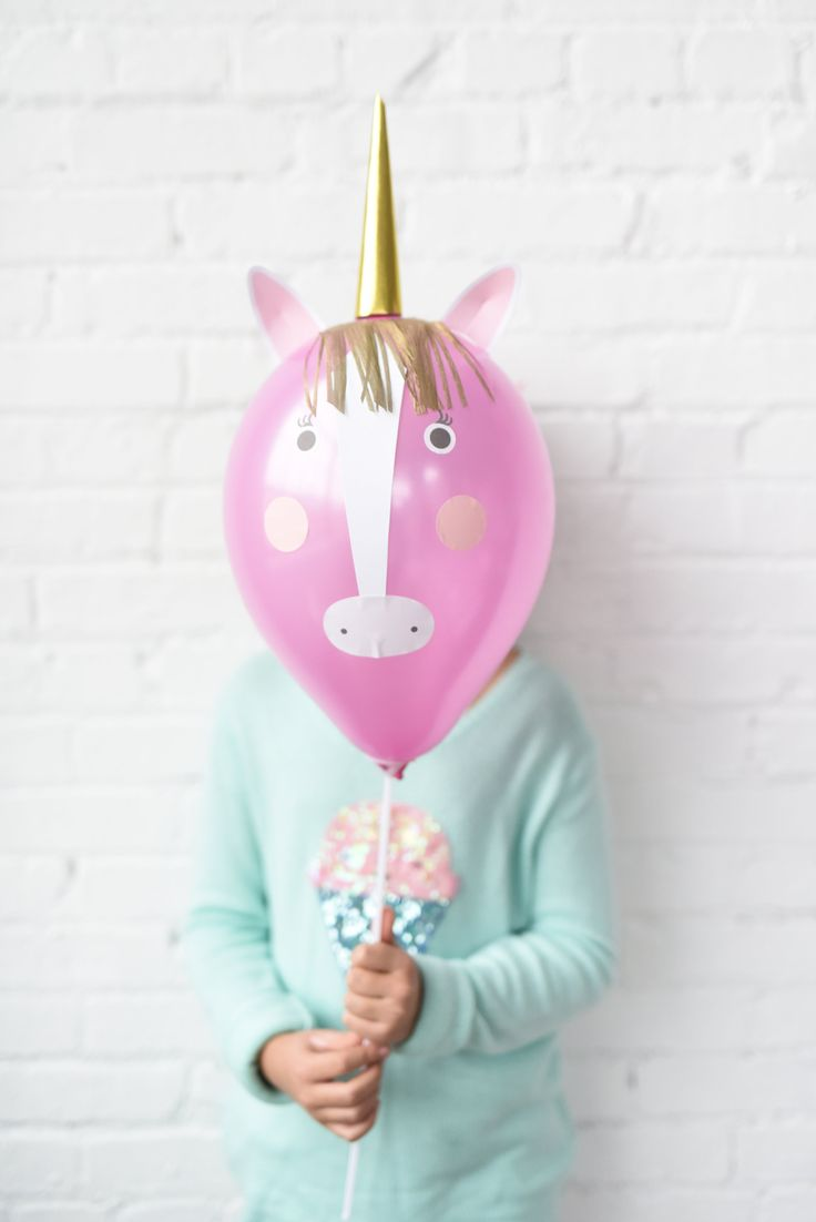 Diy Unicorn Balloon Kit Enhance Your Kids Party With These Cute Balloons Great