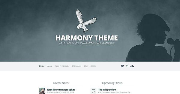 Harmony Elegant Wordpress theme free download - http://freewppremiumtheme.com/harmony-elegant-wordpress-theme-free-download/