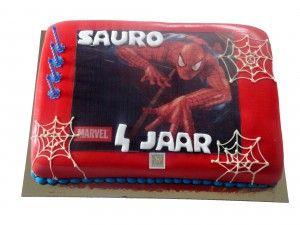 Amerikaanse taart Iedereen is een superheld! Zeker met de taart!