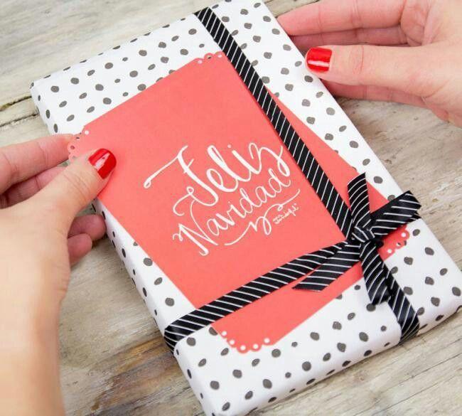 Buenas ideas para empacar un regalos navide os empaque - Ideas para regalos navidenos ...