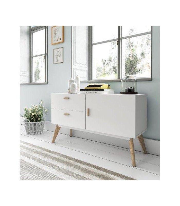 Mueble auxiliar.Llena de estilo tu hogar. Aparadores de estilo nórdico modelo W-901. Gran capacidad de almacenaje.