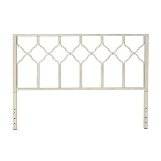 Shop for Motif Design Greek Honeycomb White Metal Headboard. Get free delivery at Overstock.com - Your Online Furniture Shop! Get 5% in rewards with Club O!