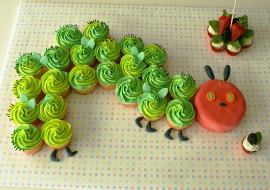 How cute is this? Idea for babies first birthday perhaps.