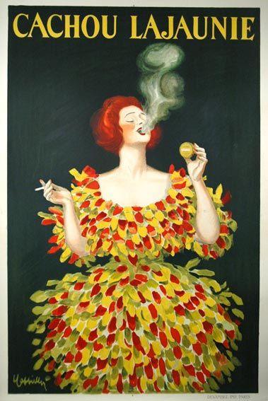 Cachou LaJaunie  1927 Classic Poster