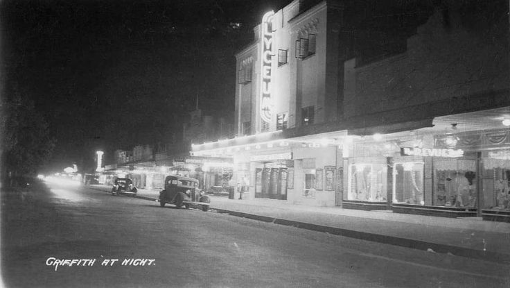 The Lyceum Cinema in Griffith. Sadly it's no longer there, however the building still stands in the main street. #Griffith #Australia #Riverina #historic #cinema