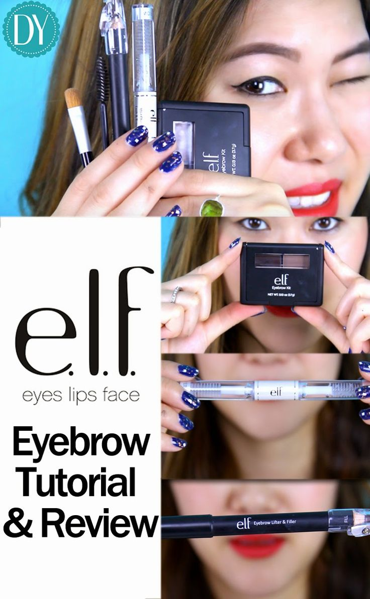 Elf Eyebrow Kit Review & How I Fill In My Eyebrows Tutorial Includes Elf  Eyebrow