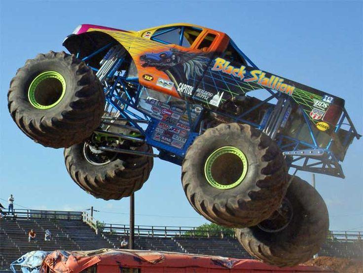 Best Big Monster Trucks Ideas On Pinterest All Truck Lifted