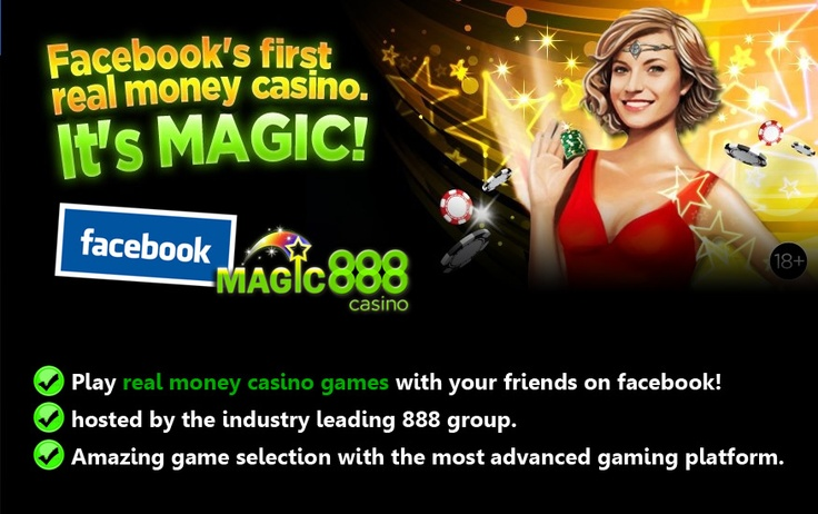Real Money 888 Casino On Facebook
