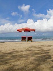 kuta beach.  (location: bali, indonesia)