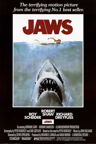 Jaws will always be among the most terrifying movies in cinema history! A great poster from the Steven Spielberg classic! Fully licensed. Ships fast. 24x36 inches. Need Poster Mounts..? bm5891 su7774