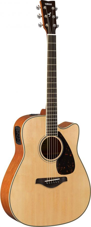 Yamaha FGX820 Electro-acoustic guitar Natural finish Launched at NAMM 2016