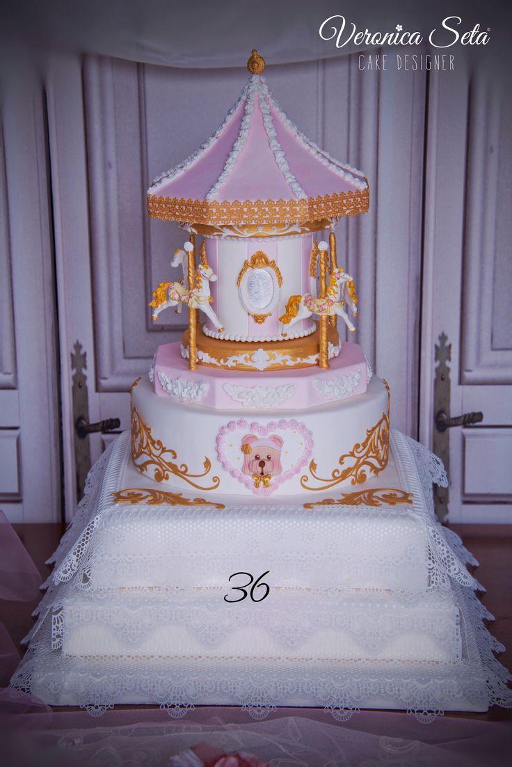 Peony Sugarpaste Cake Decoration