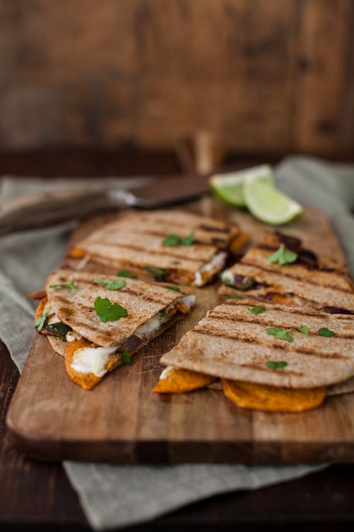 Spiced Sweet Potato Quesadilla | Recipe | Sweet Potato Quesadilla ...