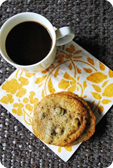 Espresso Chocolate Chip Cookies | looks yummy! | Pinterest