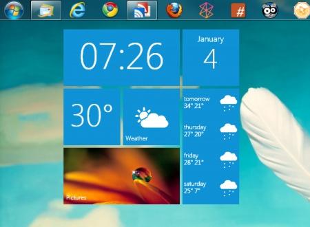 Metro UI - Weather