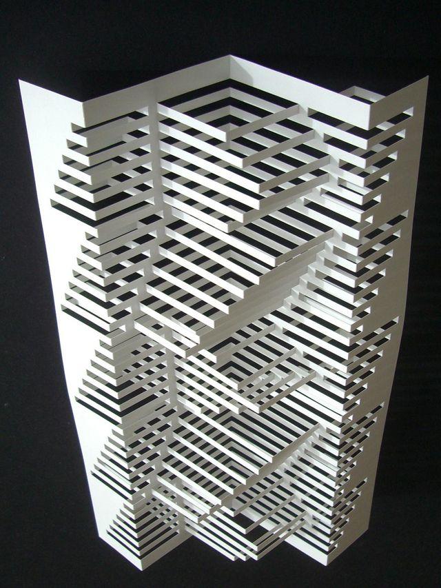 Elod Beregszaszi | Paper origami architecture