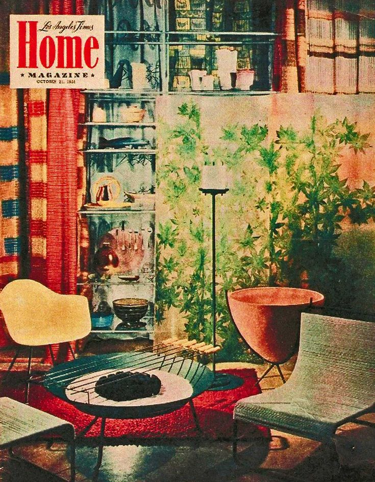I'll take one of everything!: Mid Century Modern, Living Rooms, Home Magazines, The Angel, California Style, 1950S Magazines, Magazines Covers, Midcentury, Time Magazines