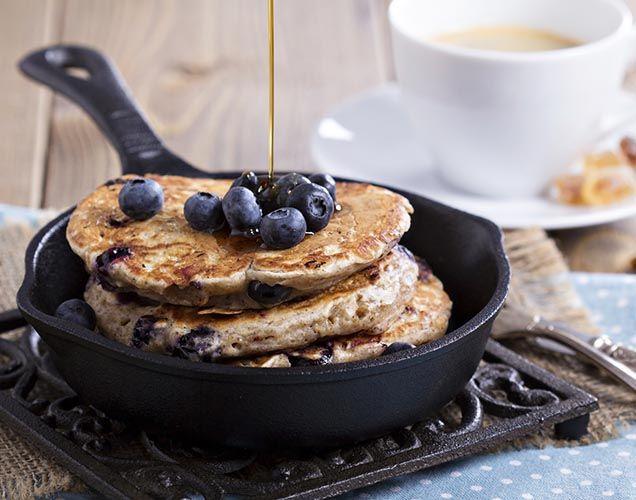 Chiapannkakor med blåbär - Recept - Mitt Kök