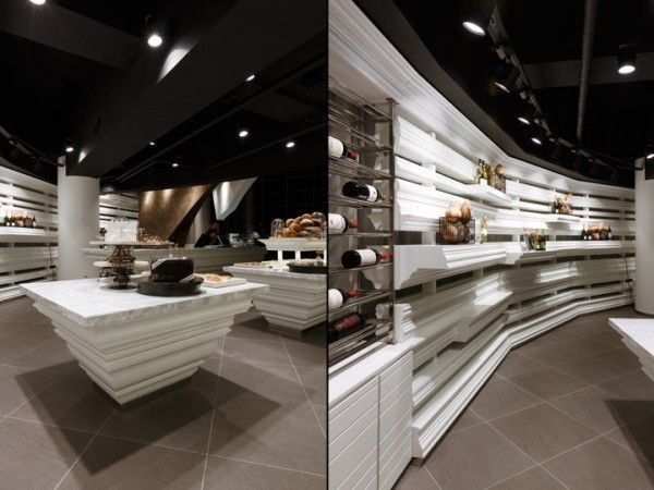 Bakery and Wine Shop Interior Design 9
