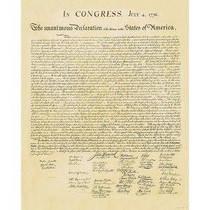 Art.com - Declaration of Independence