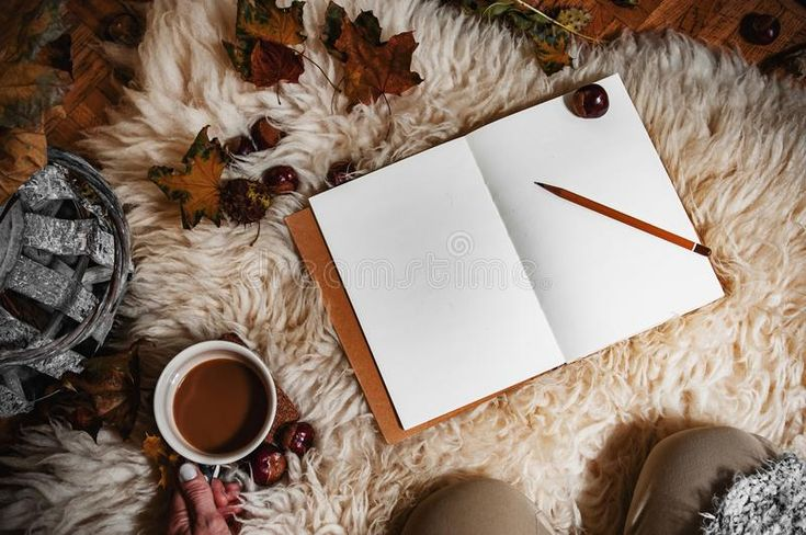 Download Hygge scenery in autumn stock image. Image of cozy, emotions - 101012227