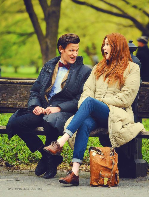 Eleven and Amy Pond