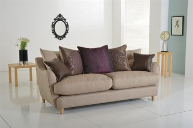 Mulberry.  The versatile Mulberry sofa offers a perfect blend of the classic and contemporary. Available as a standard or scatter back in a selection of colours, the Mulberry comes in a range of sizes to suit any living space from a generous corner group to a high back wing chair.   Fibre filled back and scatter cushions ensure total comfort, while feather filled bolster cushions add luxurious detail.
