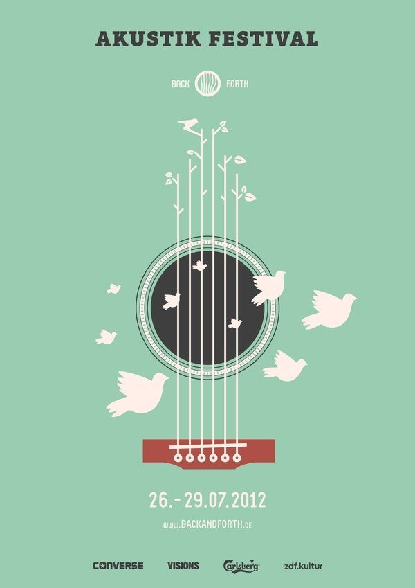 Une affiche aérienne pour l'Akustik Festival | Back and Forth Music par Marcel Bachran Rockwell Catering and Events