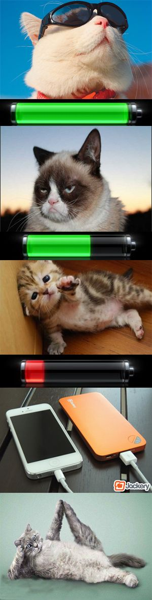 When we run out of battery...