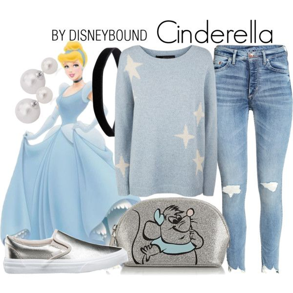 A Cinderella look from January 2017 by leslieakay featuring 360 Sweater, Vans, Miss Selfridge, disney, disneybound and disneycharacter