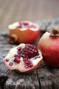 Pomegranates  from Food from the heart. Courtesy of Lapa Publishers, photo by Adriaan Vorster