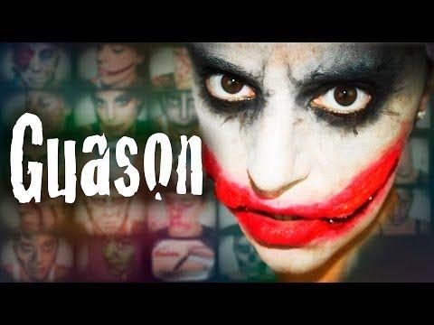 Maquillaje Halloween Guason Makeup FX #39 | Silvia Quiros - YouTube