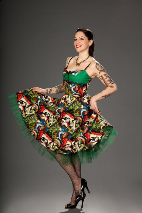 rockabilly style hair poison fashion more at gt http pinup fashion 4181