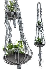 macrame plant hanger patterns - Google Search