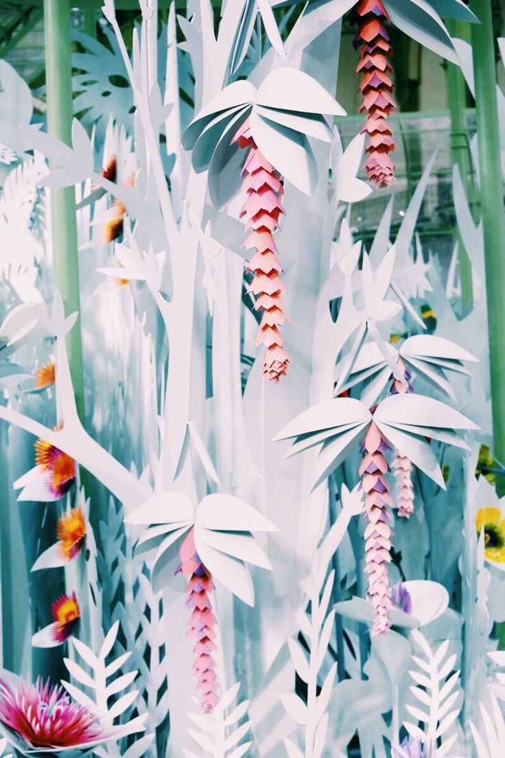 Set piece at Chanel Spring 2015 Haute Couture