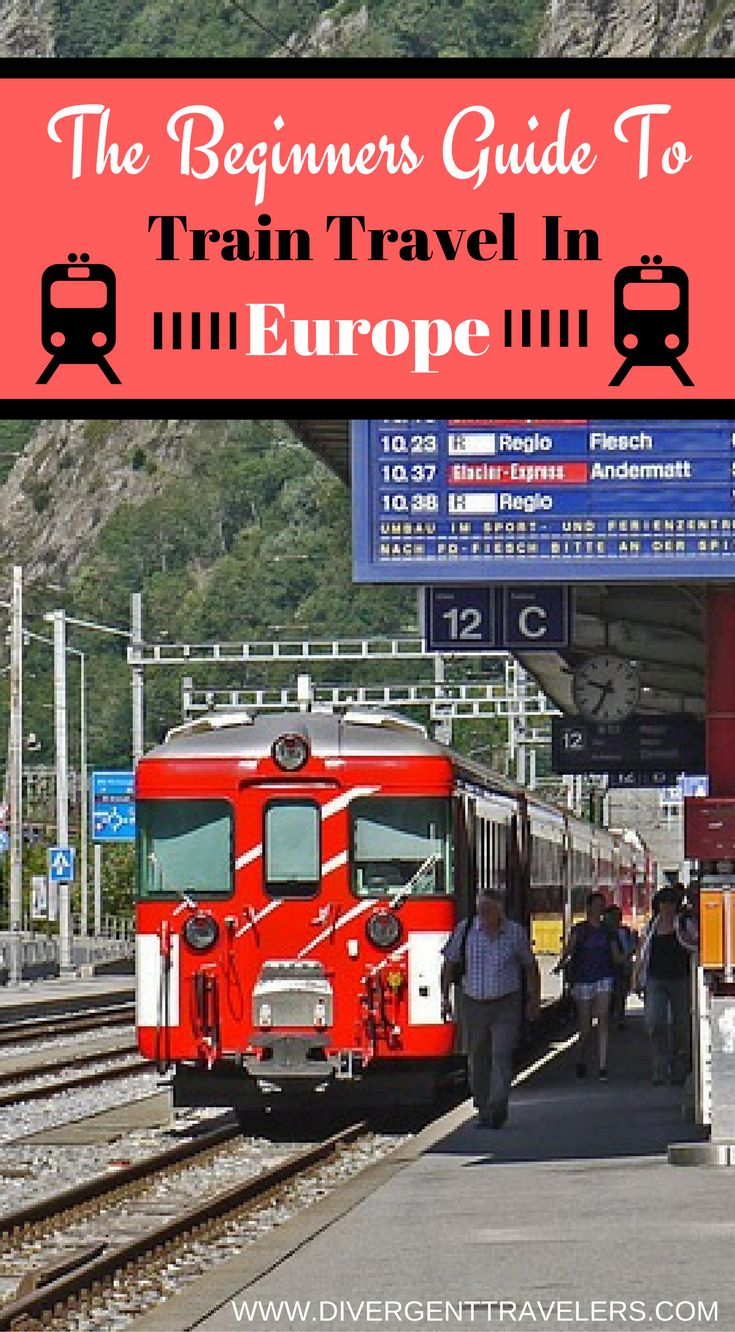 The beginners guide to train travel in Europe. Seeing Europe by train is a classic experience that you shouldn't miss despite the uprise of budget airline carriers and other forms of travel  in Europe.  By using the train, you can easily... Click to read the full travel blog post about train travel in Europe.