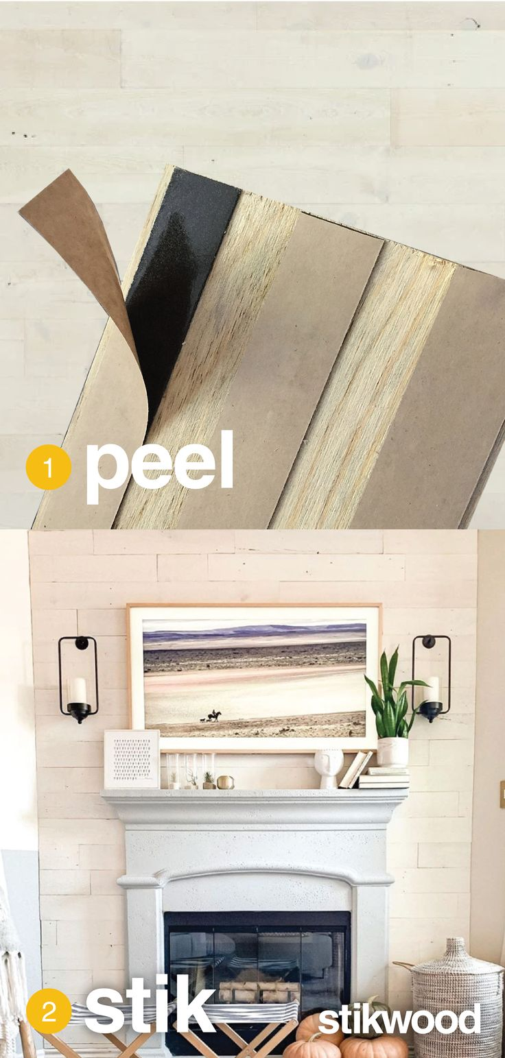 Peel and Stick Shiplap Walls with Stikwood