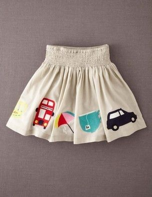 Decorative Skirt by Boden
